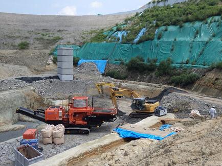 旧産業廃棄物最終処分場二次対策工事